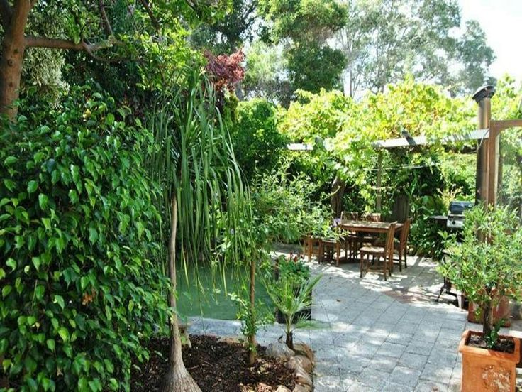 ideas portfolio dont particularly want tropical but like the pergola paths general look tropical garden design using grass with bbq area outdoor - Garden Design Using Grasses