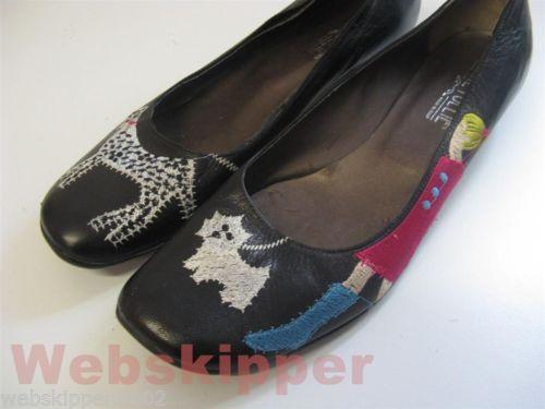 Ballerine nere DOGS Divine Follie pumps 40 come nuove DE04 | eBay