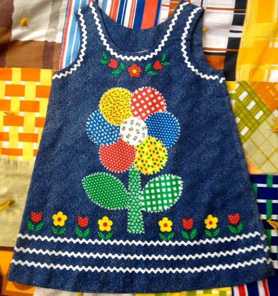 70s Patchwork Dress Girls 6/7 by lishyloo on Etsy, $20.00 by jamie_1