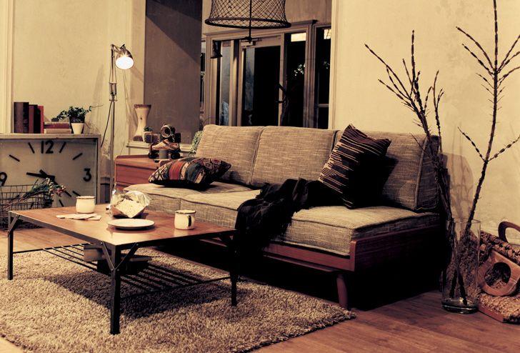 ふたりのこだわりが詰まったMIXスタイルリビング一覧 | ≪unico≫オンラインショップ:家具/インテリア/ソファ/ラグ等の販売。