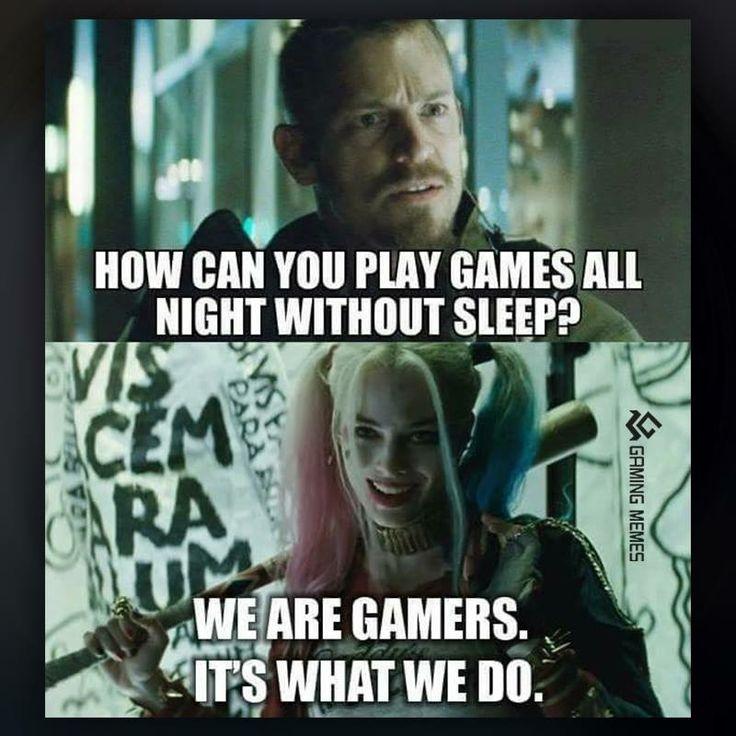 Harley Quinn gamer humor