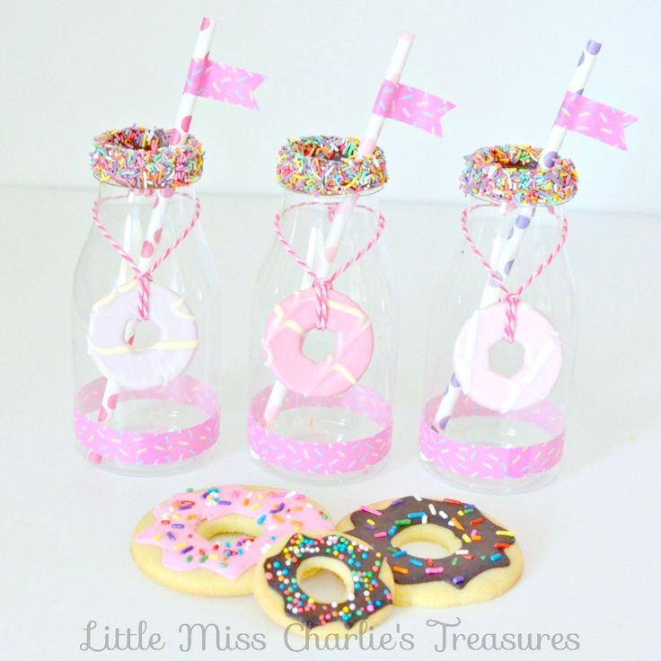 Donut & Sprinkles Birthday Party prep
