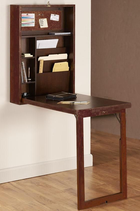 A Murphy Desk This Thing Is Brilliant For Studio Apartment Kitchen Or Spare Bedroom Where You Don T Have E An Office