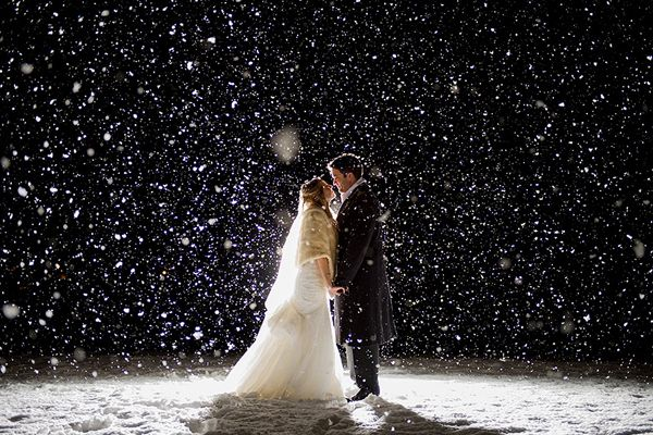 Hyatt Regency Lake Tahoe Winter Wedding by Theilen Photography