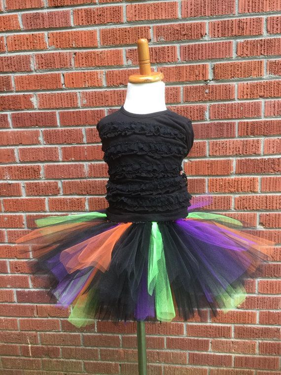 Toddler Witch Tutu - Infant Witch Tutu - Baby Witch Tutu - Toddler Witch Skirt - Baby Witch Skirt - Baby Halloween Costume - Toddler Costume