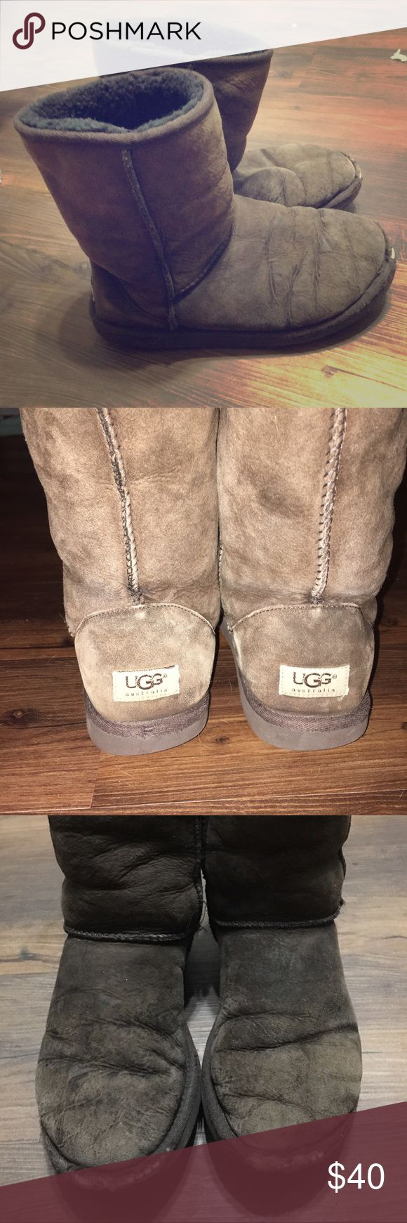 👢 Brown Uggs 👢 Used with scuffing at the toes. Priced accordingly, thank you for looking! UGG Shoes Winter & Rain Boots