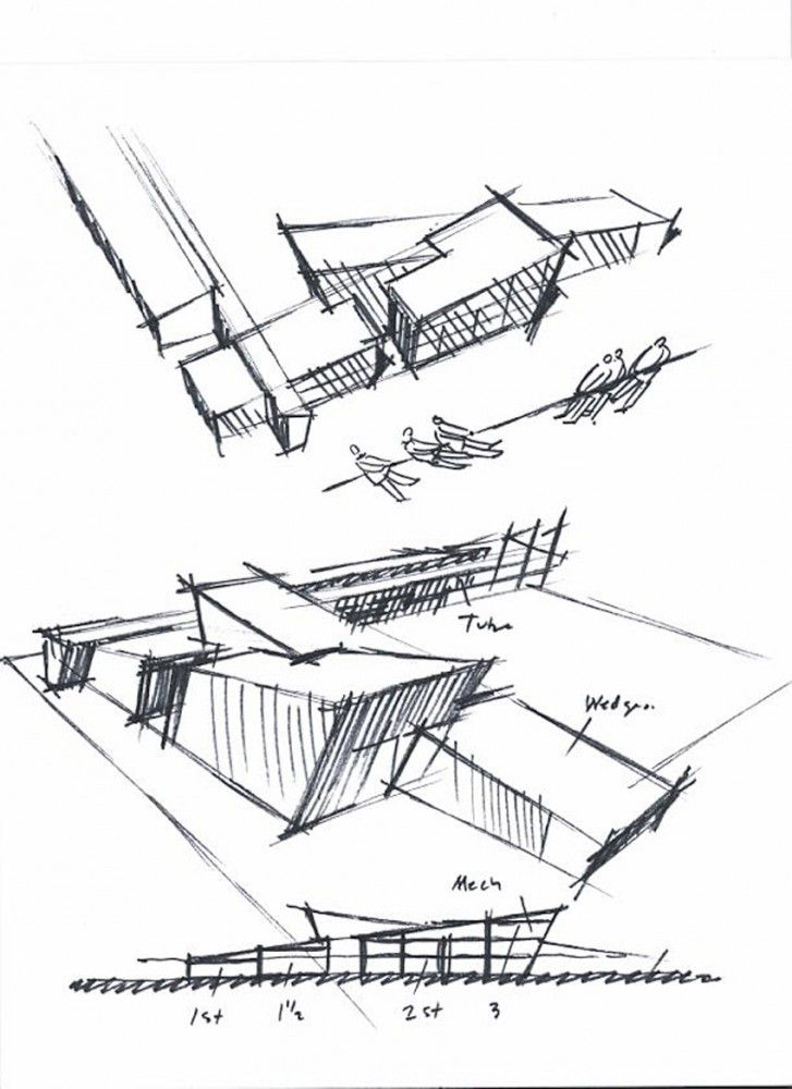 Concept sketch zeichnen architektur pinterest nice arches and hands - Architecturen volumes ...