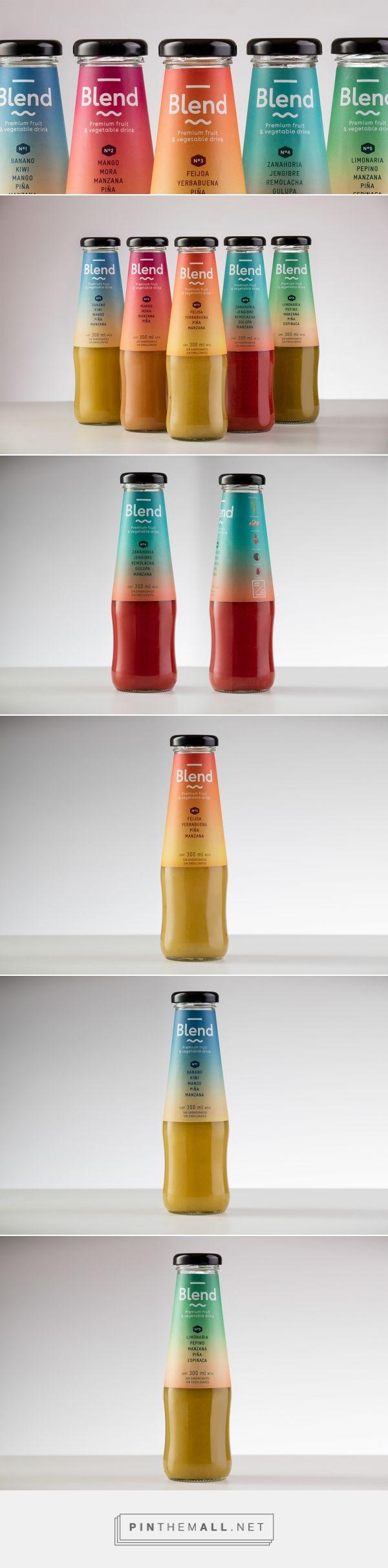 Blend — The Dieline - Branding & Packaging - created via https://pinthemall.net
