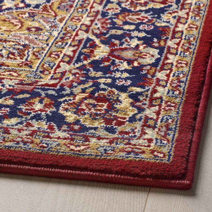 Vedbak Rug Low Pile Multicolor 6 7 X9 10 Vloerkleed Laagpolig Vloerkleed Ikea