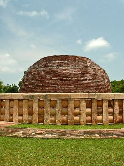 Stupa 2, which was built in the 2nd century BC. http://www.guiddoo.com/