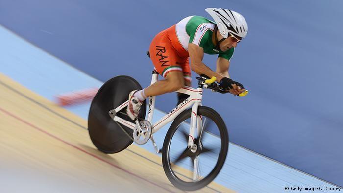 Cliclista iraniano morre após acidente na Paralimpíada Foto: Bahman Golbarnezhad durante uma prova da Rio 2016