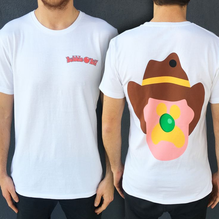 FRONT AND BACK BOB WHT TEE