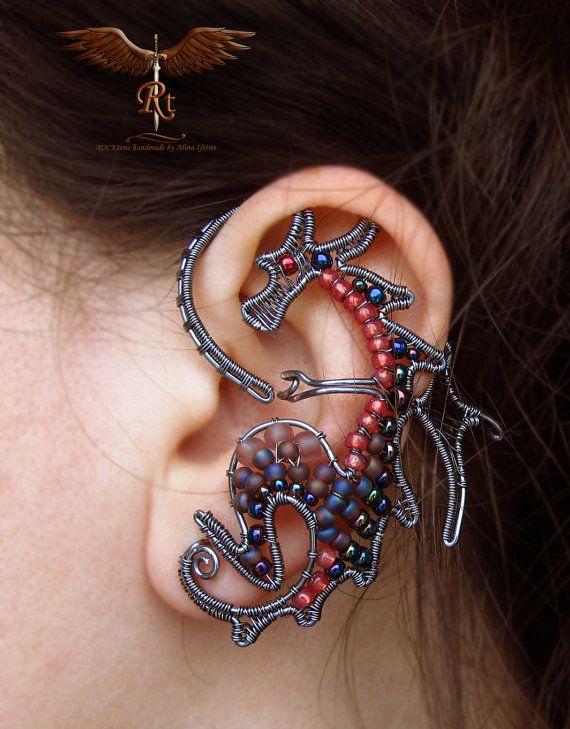 Dragon d'oreille!