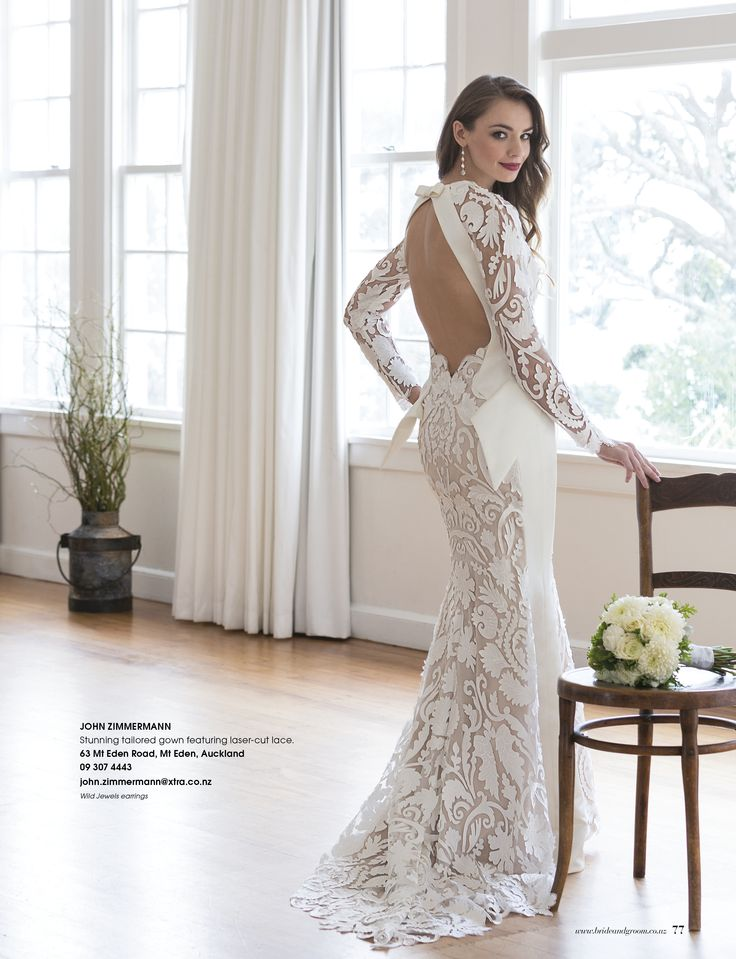 Gorgeous girl, gorgeous gown and gorgeous Wild Jewels pearl and crystal earrings - as seen in the latest Bride and Groom Magazine Issue 85 Jul - Sep 2015.