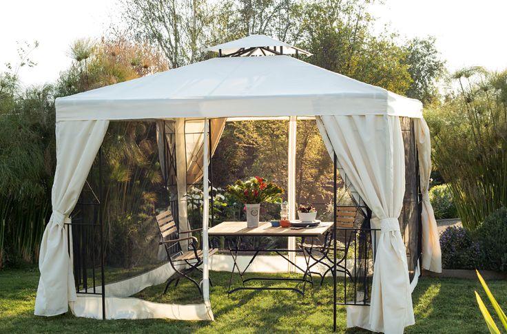 Un toldo lleno de elegancia y funcionalidad terrazas for Terrazas easy 2016