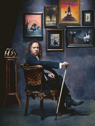 Inside Metallica Guitarist Kirk Hammett's 'Horror Business' Pictures - 'Kirk Von Hammett' | Rolling Stone