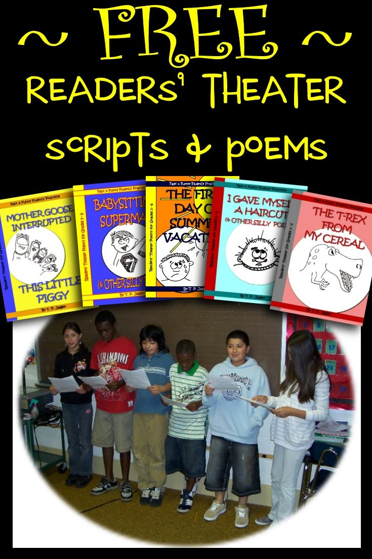 great readers theater script - 735×1105