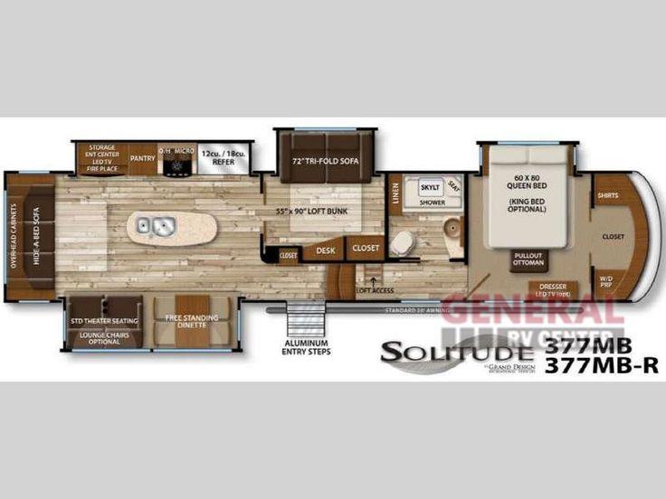 New 2016 Grand Design Solitude 377MB Fifth Wheel at General RV   Draper, UT   #131379