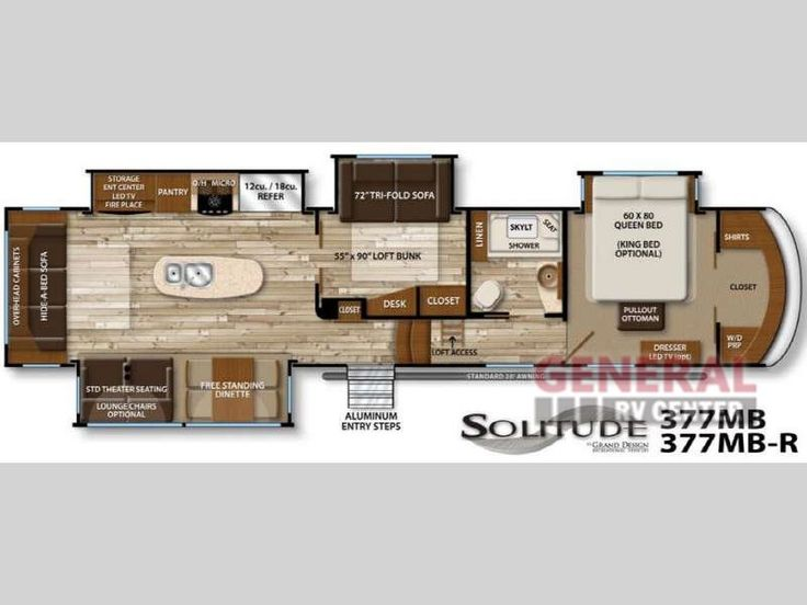 New 2016 Grand Design Solitude 377MB Fifth Wheel at General RV | Draper, UT | #131379