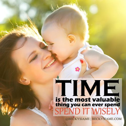 BECKYSIAME.COM | Time is the most valuable thing you can ever spend, spend it wisely.