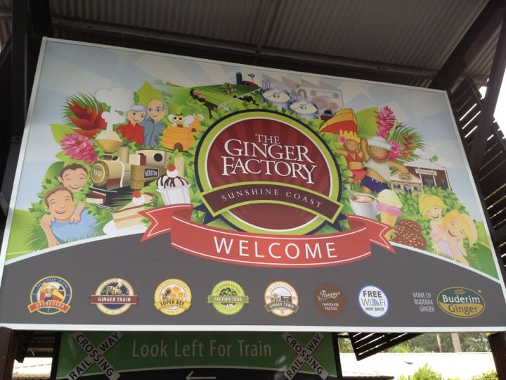 Buderim Ginger Factory in Yandina, QLD