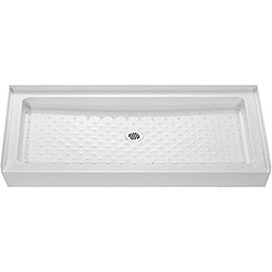 @Overstock - The Amazon shower tray is designed to match standard tub sizes, allowing for a cost effective tub-to-shower conversion. This quality, rectangular single-threshold shower tray replaces a standard 5-foot bath. http://www.overstock.com/Home-Garden/DreamLine-Amazon-60x34-inch-Tub-Replacement-Rectangular-Shower-Tray/4820141/product.html?CID=214117 $351.99