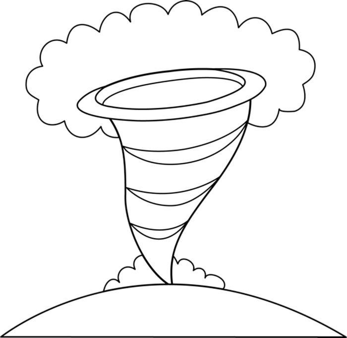 The Tornado Coloring Pages In 2020 Coloring Pages Coloring Pages For Girls Camping Coloring Pages