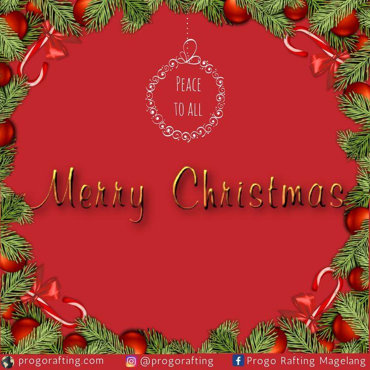 Selamat Natal! Semoga di hari Natal ini kita semua diberi kesempatan untuk berdoa, untuk peduli, dan untuk menebar cinta kasih bagi sesama. www.progorafting.com  : Follow Sosial Media kami : Google+ : +PROGO RAFTING MAGELANG Twitter : @progorafting Facebook : Progo Rafting Fanspage : Progo Rafting Magelang Instagram : @progorafting Youtube : http://bit.ly/20fbX6y . . . . #progorafting #progoraftingmagelang #progo_adventure #puriasri #rafting #elorafting #raftingelo #raftingmagelang…