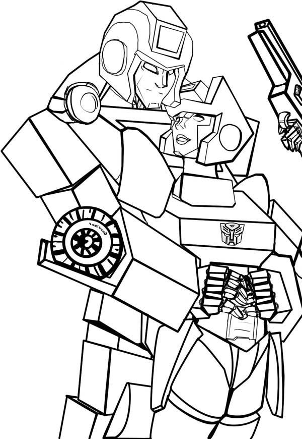 Coloring Ironhide Pages Transformers 2020 Check More At Https