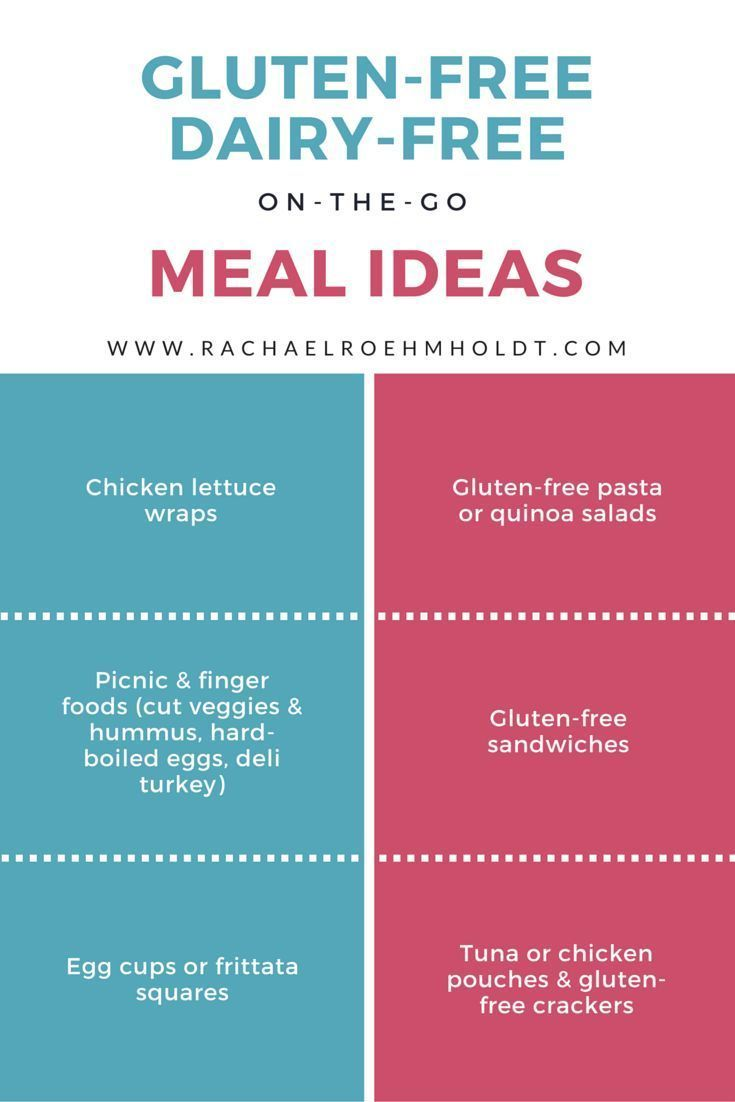 Always on the go? Try one of these gluten-free dairy-free meal ideas for busy people. | http://RachaelRoehmholdt.com