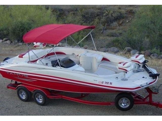 2007 Tahoe 215 Fish and Ski Deck Boat V8