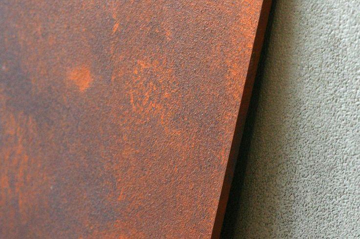 Panel ścienny tynkowany Paneletto - Panel Rust 01