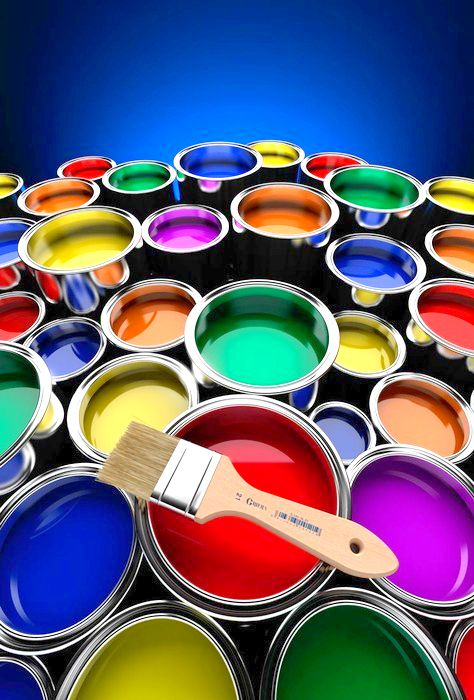 Paints #Colorful #in colors www.bramona.com