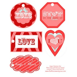 Free Valentine's Day Tags Printable
