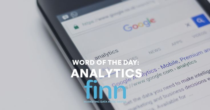 Analytics is the act of reporting on the data you have collected with the aid of specialized systems and software, illuminating business conditions, sentiment and directional changes over time. They are the mathematical way of synthesizing metrics.