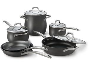 10-pc. Unison Nonstick Cookware Set by Calphalon at Cooking.com #holidaycooking