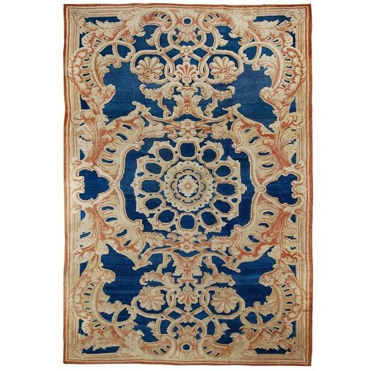 Large 19th Century Axminster Rug   From a unique collection of antique and modern western european rugs at https://www.1stdibs.com/furniture/rugs-carpets/western-european-rugs/
