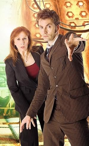 Doctor Who - Ten and my favorite companion, Donna Noble