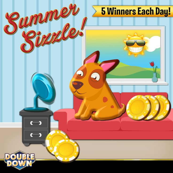 (EXPIRED) 5 lucky winners a day will WIN 300 MILLION CHIPS in our Summer Sizzle giveaway! You can get all the rules on our Facebook page. Claim 250,000 FREE chips when you tap the Pinned Link, or use code RDDPDG