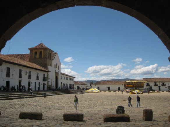 Villa de Leyva, Plaza Central.
