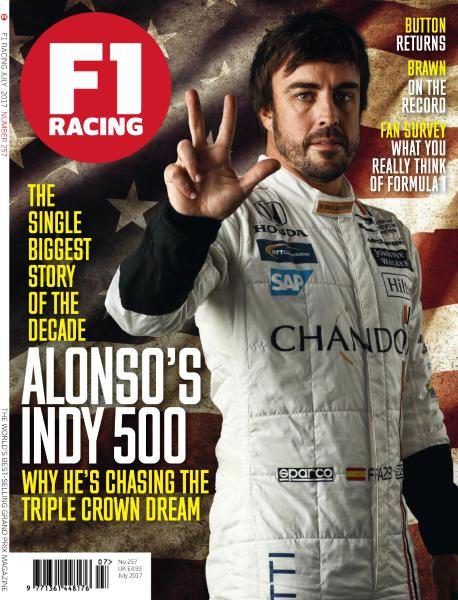 Buy F1 Racing UK Magazine Subscription | Buy at Magazine Cafe - Single Issue & Subscription Specialist in USA