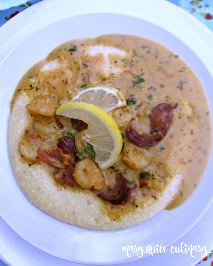 Southern Shrimp and Grits 13