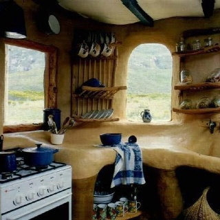 Eco kitchen!