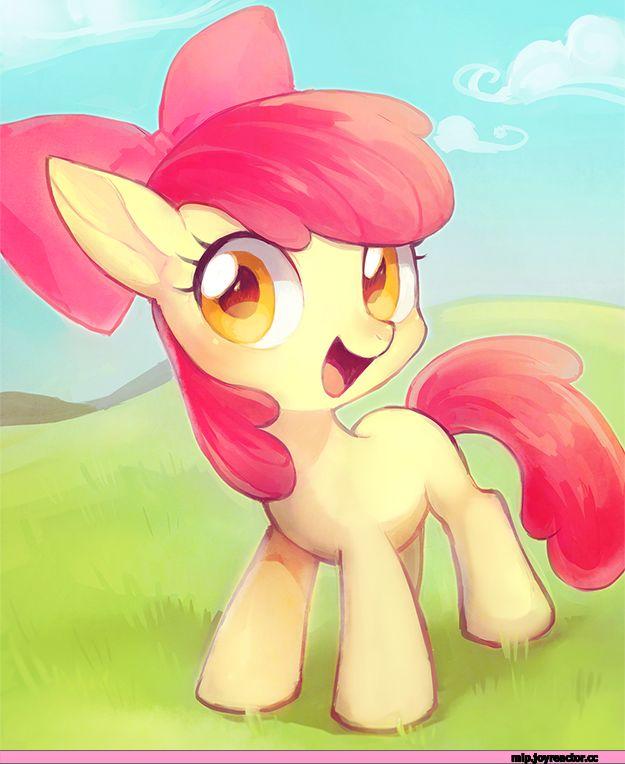 картинки мой маленький пони эпл блум обстановка, немного