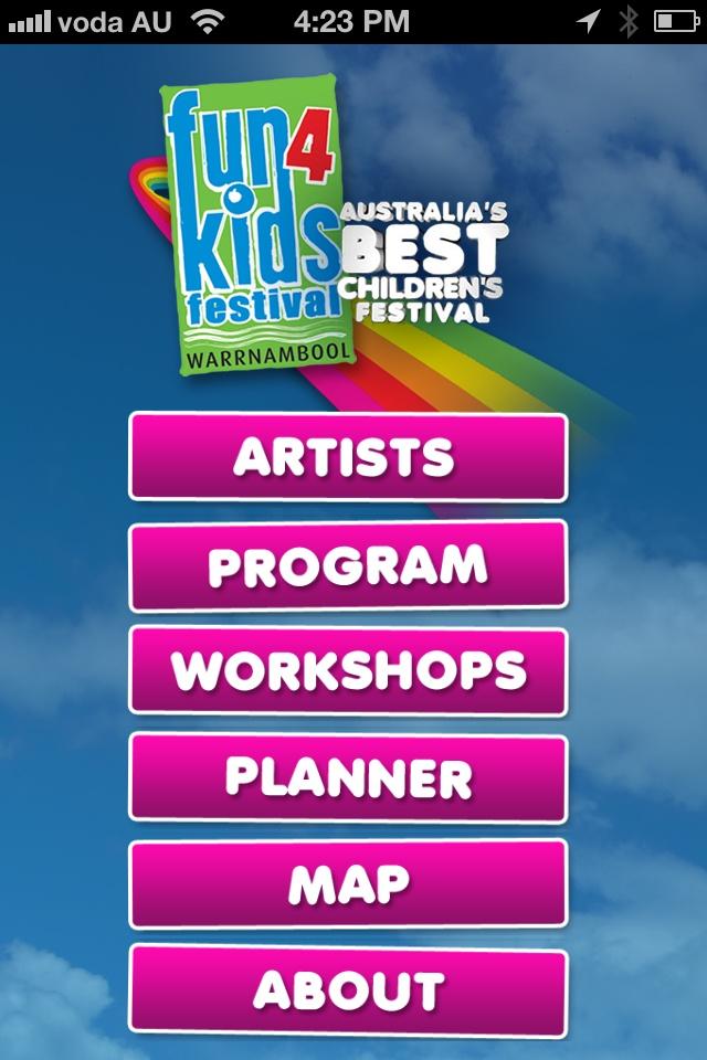 Fun4Kids iPhone App