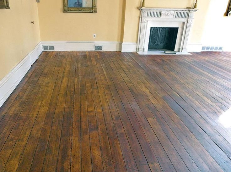 How to Hand-Scrape Wood Floors | Old House Restoration, Products & Decorating