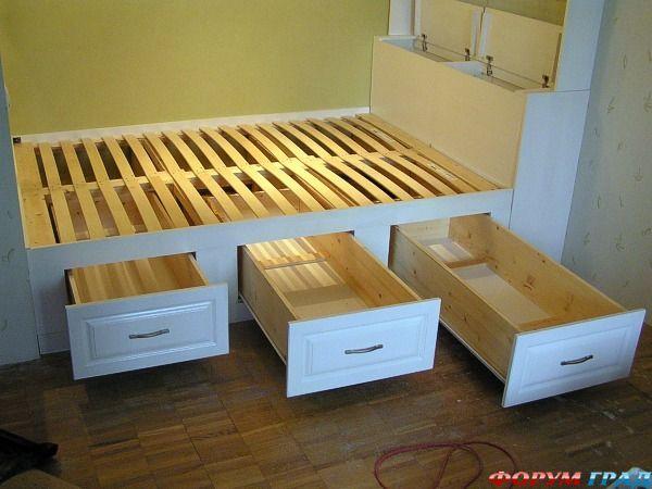 Используйте полностью пространство спального помещения: оригинальное размещение кровати - Для того, чтоб спальне быть удобною и дивною, в жизнь нам надо претворить идеи конструктивные. О том, как сделать это, поделимся секретами - Форум-Град