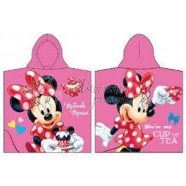 Disney Minnie Mouse - Prosop cu gluga din bumbac pentru copii 60x120 cm CTL69295-1  http://www.asternuturisiprosoape.ro/disney-minnie-mouse-prosop-cu-gluga-din-bumbac-pentru-copii-60x120-cm-ctl69295-1.html  #prosoapecopii #prosoapedisney #prosoapecugluga