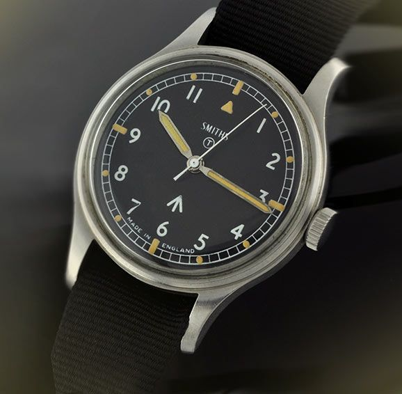 The Smiths vintage Military Watch, the last of it's kind in British watch making.
