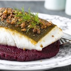 Martin Blunos' Halibut Steaks
